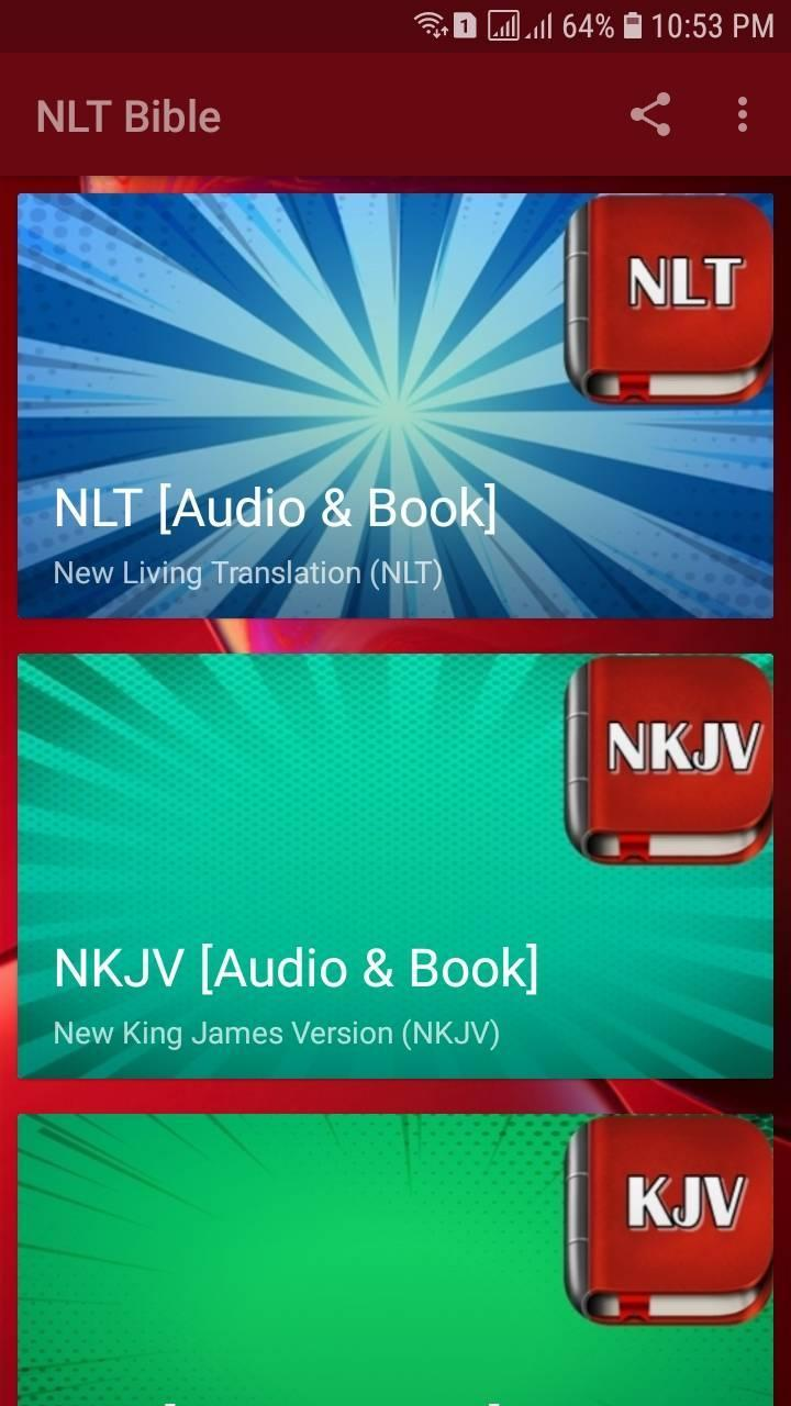 NLT Audio Bible Free  Audio Bible Dramatized for Android - APK Download