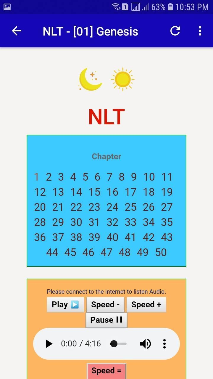 NLT Audio Bible Free  Audio Bible Dramatized for Android