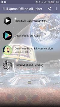 Full Quran Offline Ali Jaber poster