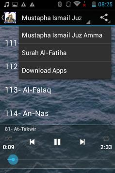 Mustapha Ismail Juz Amma MP3 screenshot 3