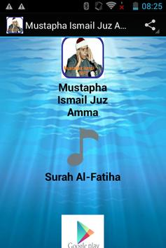 Mustapha Ismail Juz Amma MP3 screenshot 4