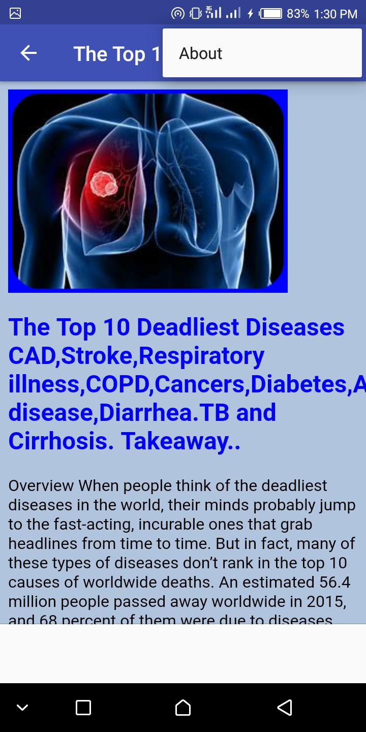The Top 10 Deadliest Diseases for Android - APK Download