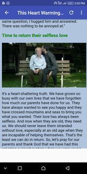 Heart Warming Story!!! screenshot 10
