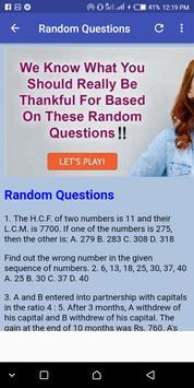 Aptitude Test sample FAQ screenshot 3
