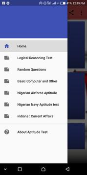 Aptitude Test sample FAQ poster