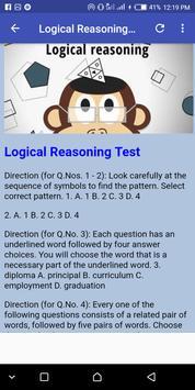 Aptitude Test sample FAQ screenshot 10