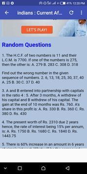 Aptitude Test sample FAQ screenshot 7