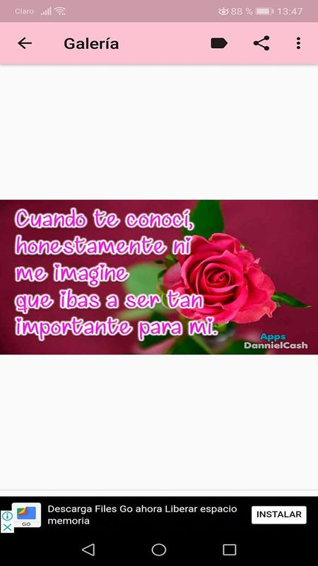 Flores Con Frases De Amor Romanticos For Android Apk Download