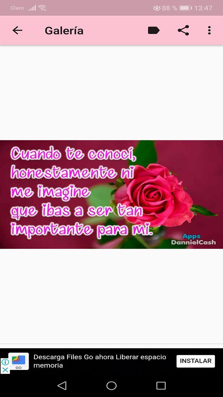 Flores Con Frases De Amor Románticos For Android Apk Download