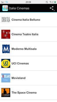 Italia Cinemas poster