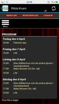 Swedish Cinemas screenshot 2
