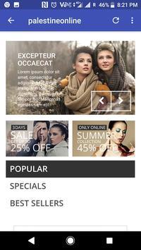 Palestine Online Shops screenshot 3