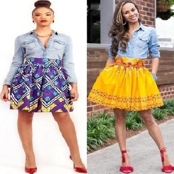Denim Shirt & Ank Skirt Styles screenshot 1