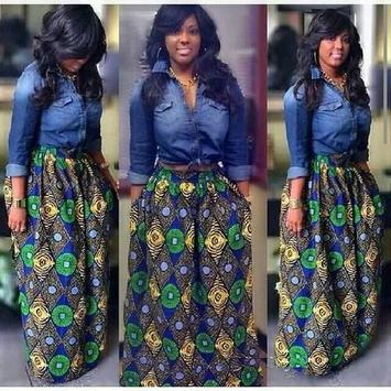 Denim Shirt & Ank Skirt Styles screenshot 2