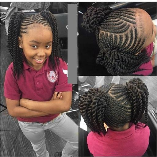 Fine Kids Braids Hairstyles For Android Apk Download Natural Hairstyles Runnerswayorg
