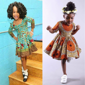 Kids Ank Short Dress Styles. أيقونة