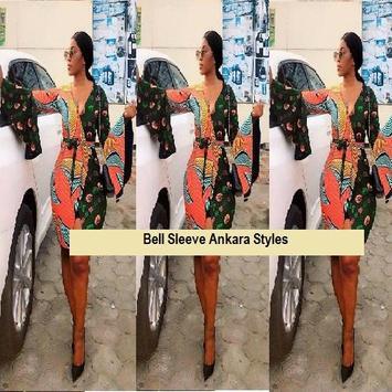 Bell Sleeve Ankara Styles screenshot 5