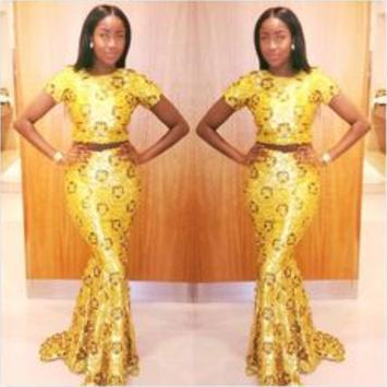 African Style Top & Long Skirt screenshot 12
