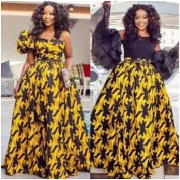 African Style Top & Long Skirt screenshot 1