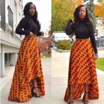 African Style Top & Long Skirt screenshot 2