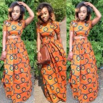 African Style Top & Long Skirt screenshot 7