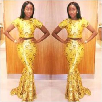 African Style Top & Long Skirt screenshot 4