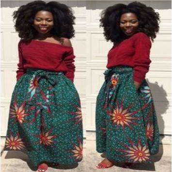 African Style Top & Long Skirt screenshot 6