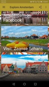 Explore Amsterdam poster