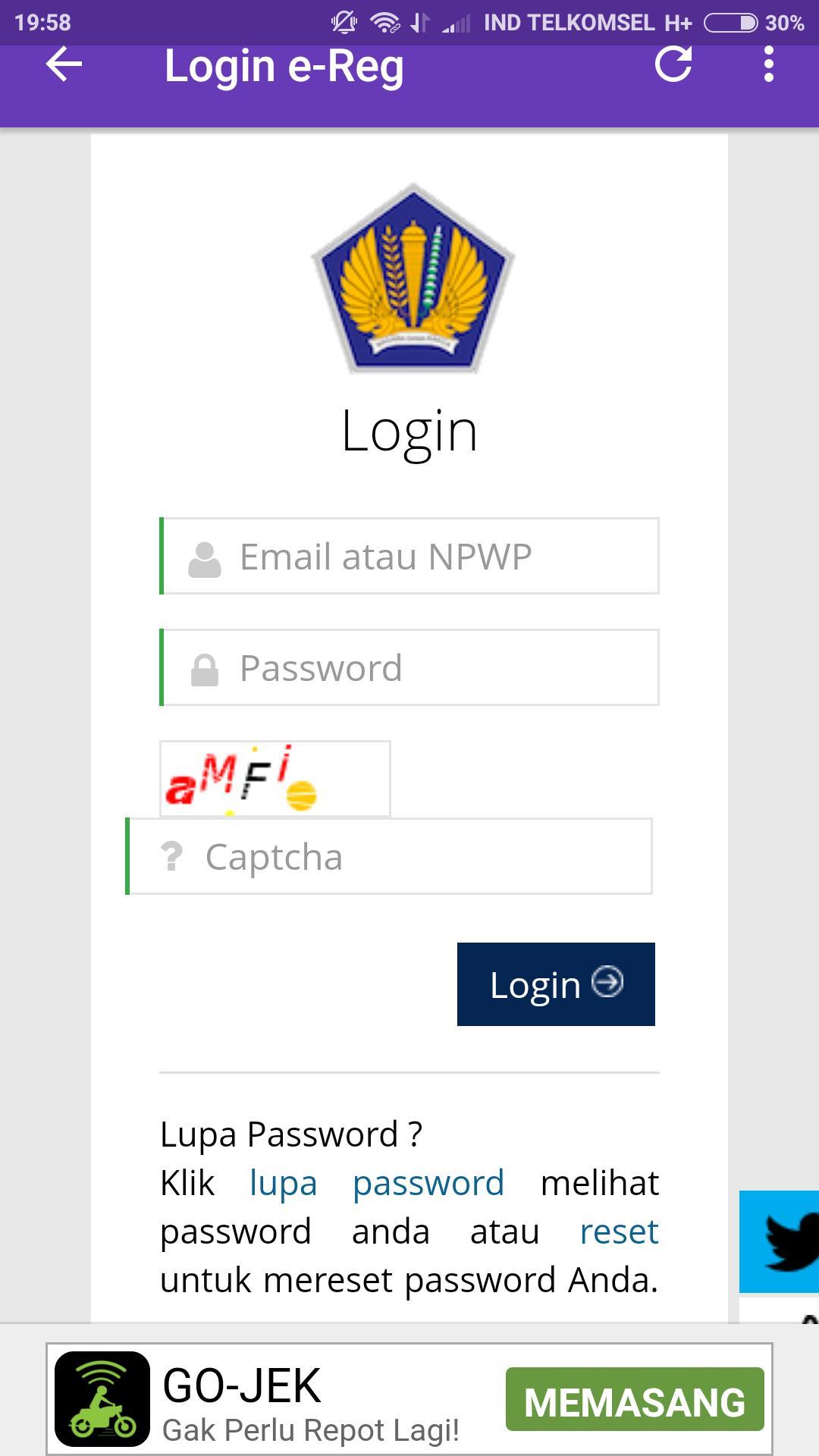 Djp Online Pajak For Android Apk Download