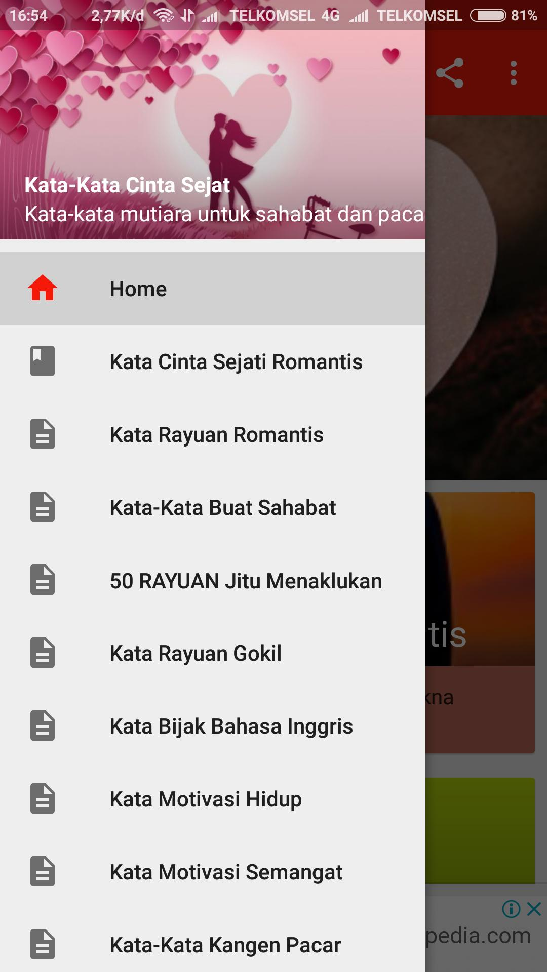 Kata Cinta Sejati For Android Apk Download
