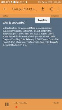 SDA (Seventh Day Adventist) Audio Hymns, Podcasts ảnh chụp màn hình 5