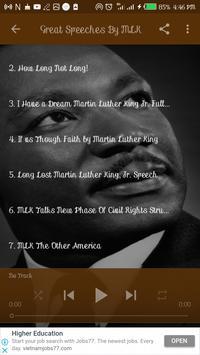 Listen to Dr. Martin Luther King Jr. Speeches ảnh chụp màn hình 3