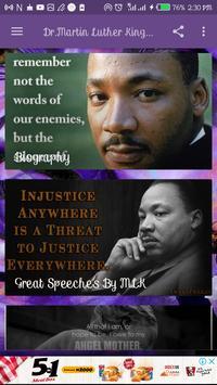 Listen to Dr. Martin Luther King Jr. Speeches ảnh chụp màn hình 1