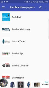 Zambia News poster