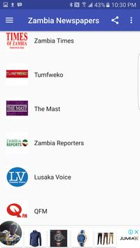 Zambia News screenshot 1