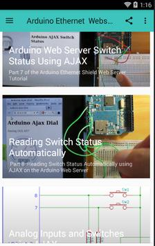 The Arduino Ethernet Shield Web Server Tutorial for Android