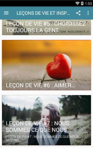 Lecons De Vie Et Inspiration For Android Apk Download