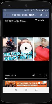Video Lucu pengguna Tiktok Indonesia 2019 wkwkland screenshot 3