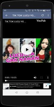 Video Lucu pengguna Tiktok Indonesia 2019 wkwkland screenshot 5