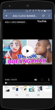 Video Lucu pengguna Tiktok Indonesia 2019 wkwkland screenshot 6