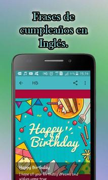 Frases Bonitas de Feliz Cumpleaños screenshot 4