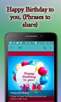 Frases Bonitas de Feliz Cumpleaños screenshot 17