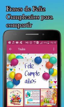Frases Bonitas de Feliz Cumpleaños screenshot 2