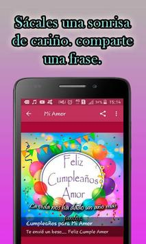 Frases Bonitas de Feliz Cumpleaños screenshot 5