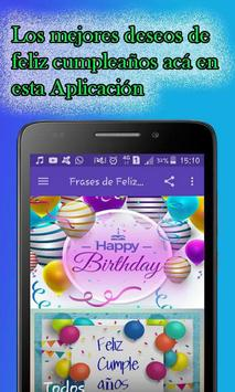 Frases Bonitas de Feliz Cumpleaños screenshot 8