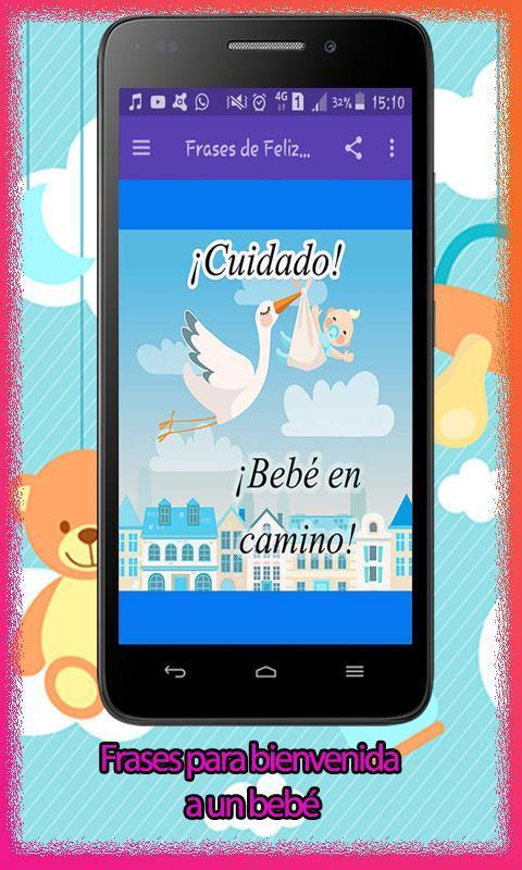 Frases De Bienvenida Para Un Lindo Bebé For Android Apk