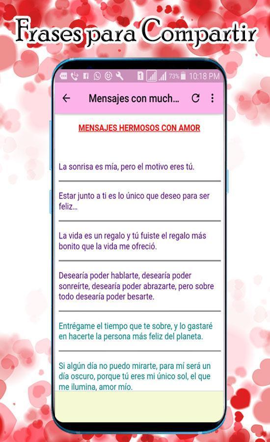 Frases Bonitas De Amor Para Dedicar для андроид скачать Apk