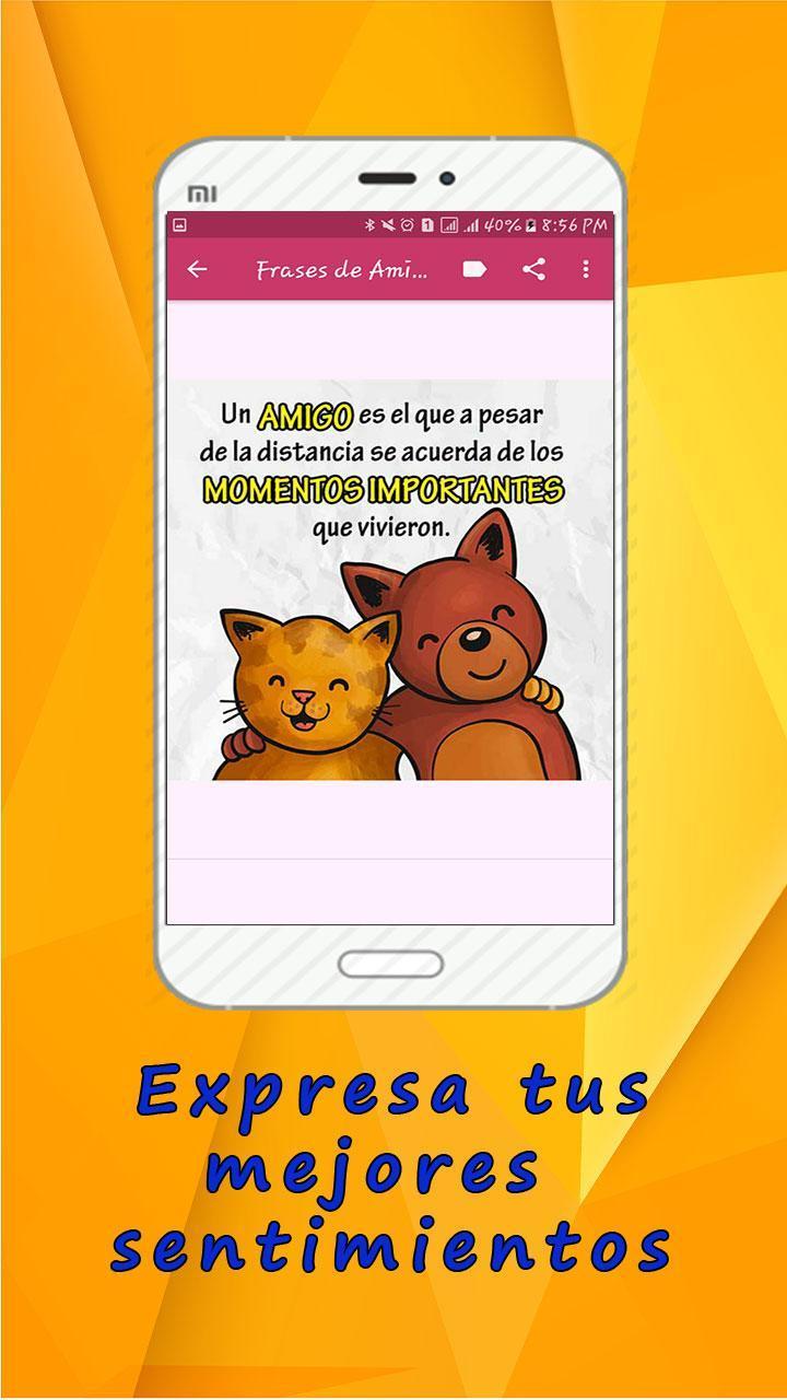 Frases Bonitas De Amistad Para Dedicar для андроид скачать Apk