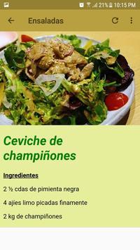 Recetario Gourmet screenshot 4