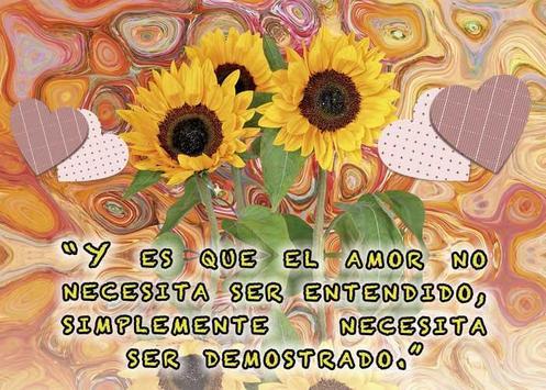 Frases de amor con girasoles screenshot 6